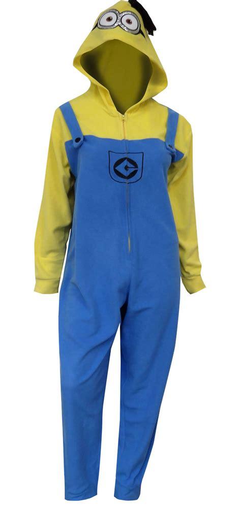 webundies despicable me minion hooded one pajama