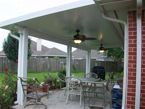 Awesome Aluminum Patio Cover Materials #13 Metal Roof