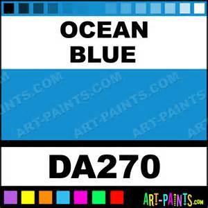 ocean blue americana acrylic paints da270 ocean blue