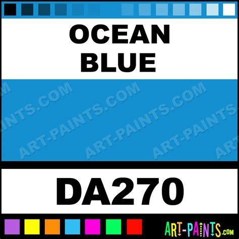 ocean blue paint ocean blue americana acrylic paints da270 ocean blue