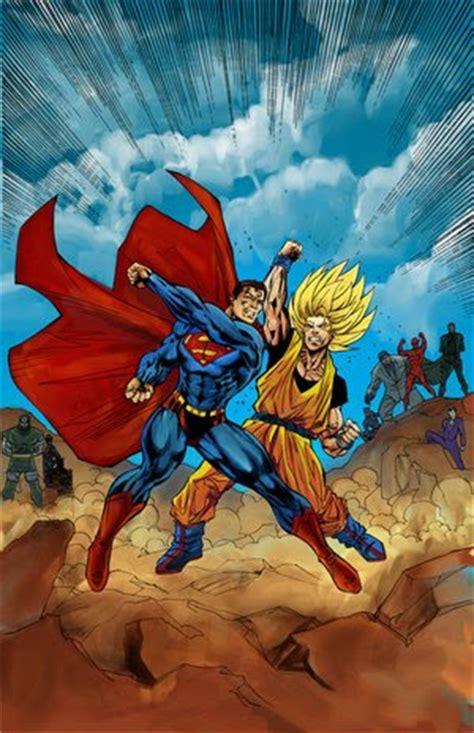 imagenes goku vs superman goku vs superman dibujos taringa