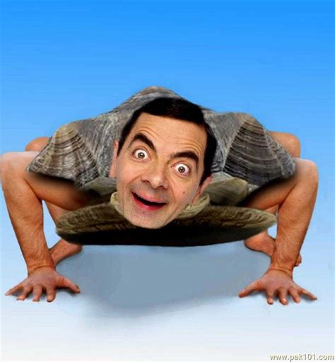 Photoshop Magic Or The Weirdest Photo by Picture Mr Bean Pictures Pak101
