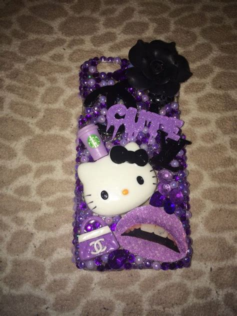 Hello Blink Handmade Swarovski Bling All Type purple bling iphone 6 kawaii mobile iphone 6 cases cases and iphone 6