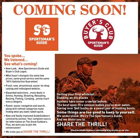 Sportsman S Guide Gift Card - the sportsman s guide get a 20 gift card when you join or renew the club milled