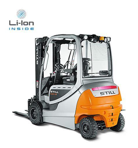 elektrische heftruck rx 60 2,5 3,5 t typenblad | still