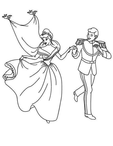 cinderella bride coloring pages cinderella and prince wedding coloring page cinderella
