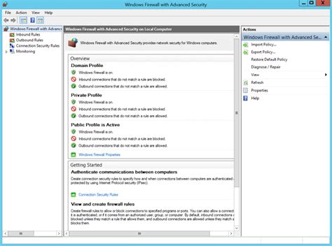 configure xp security firewall settings for activereports server activereports