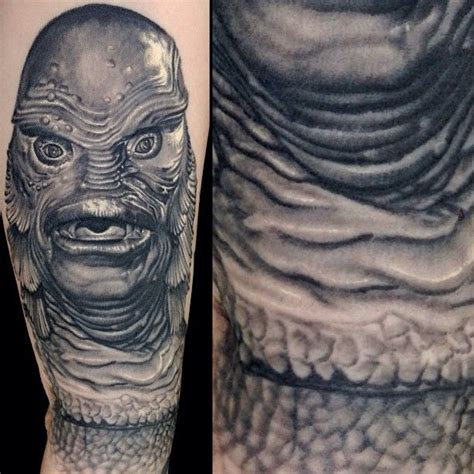 creature from the black lagoon tattoo by nikko hurtado