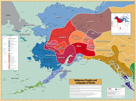 american tribes alaska map map alaska language archive