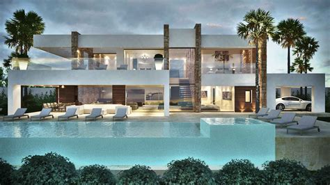 villa modern modern villas marbella villas for sale in marbella pools