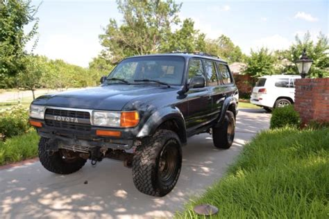 toyota cruiser lifted 1993 toyota land cruiser fzj80 lifted