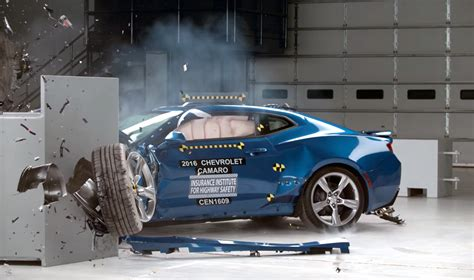 maserati gets smashed try not to cringe as this new camaro gets smashed to