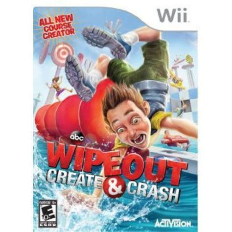 design wii game wipeout create crash wii walmart com
