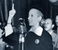 eva peron biography in spanish cultural artifacts of argentina