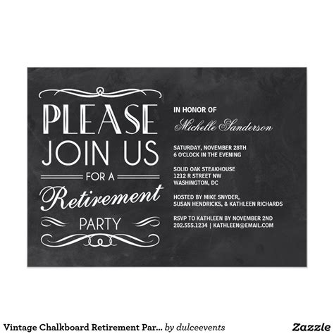 free retirement farewell party invitation templates greetings