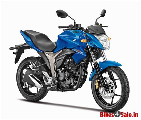 Price Of Suzuki Blue Colour Suzuki Gixxer 150 Motorcycle Picture Gallery