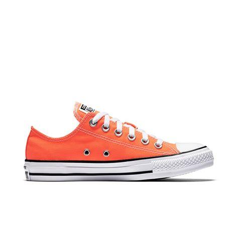 Convers Tanggal Orange 1 chuck all seasonal colors low top in hyper orange converse hyper orange 155736c