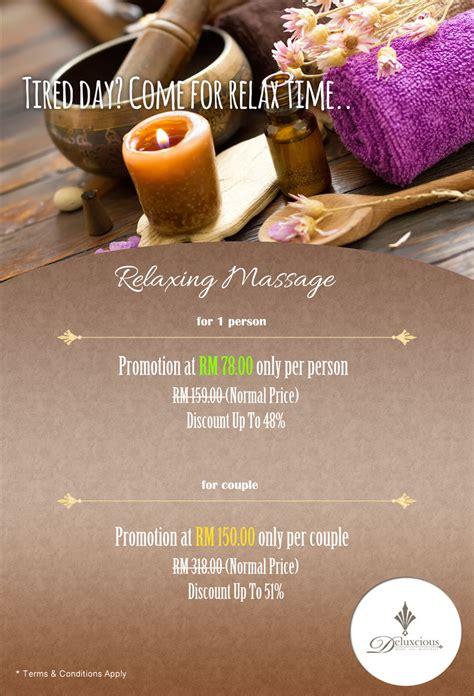promos spa spa promotion october november 2016 penang