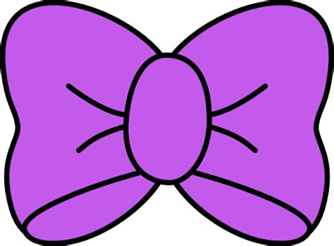 bows clipart purple bow clip at clker vector clip