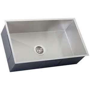 Ticor Kitchen Sinks Ticor S6503 Undermount 16 Stainless Steel Kitchen Sink