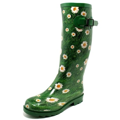 womens funky festival wellies wellington boots