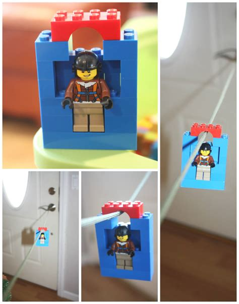 lego crafts for lego zip line zip line for