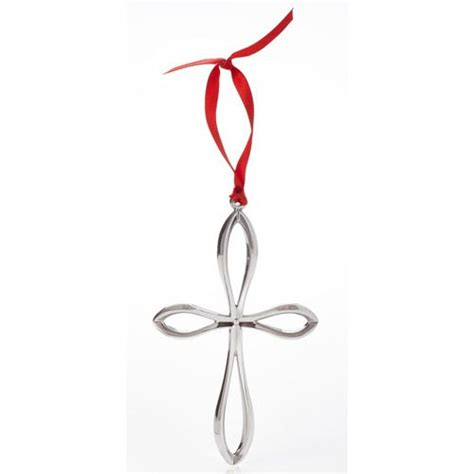 2014 nambe cross ornament silver superstore