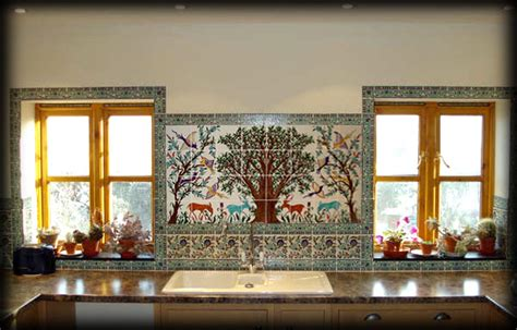 kitchen murals design decorative kitchen tiles and tile backsplash ideas