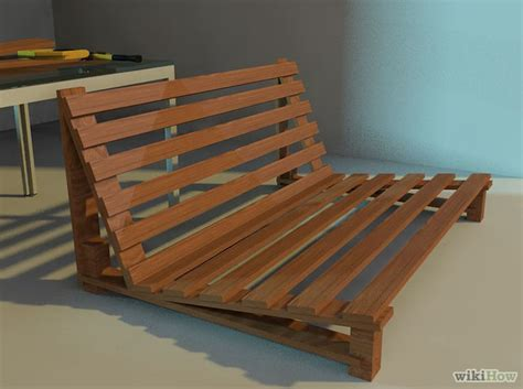 Diy Japanese Futon by Image Titled Build A Futon Frame Step 11 Projects To Try Futon Bed Bed Frame