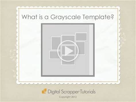 grayscale template how to use grayscale templates digital scrapper