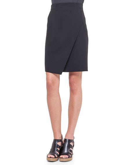 Panel Asymmetric Skirt akris asymmetric front panel pencil skirt