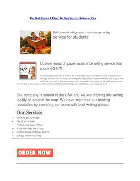 best research paper writing meet the best research paper writing service