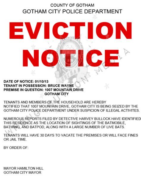 printable notice of eviction eviction number four von simeon