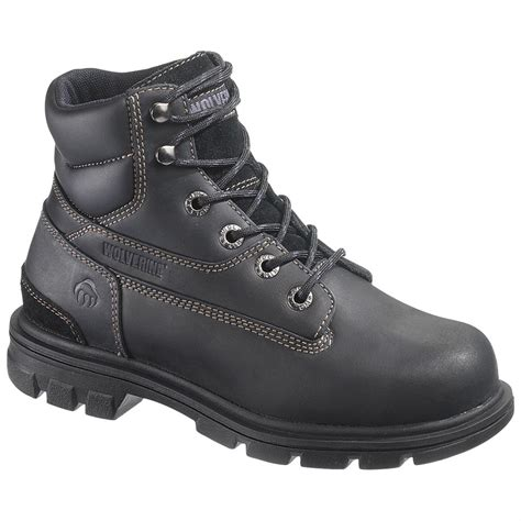 wolverine boots womens s wolverine 174 6 quot boots black 220241 work