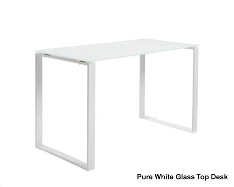 Clear Top Desk by Style Clear Glass Top Desk Diego Eu 09811clr