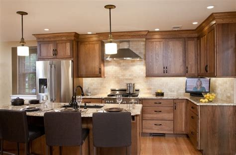 Ferrarini Kitchen And Bath by Hickory Shaker Kitchen In Elkins Park Transitional