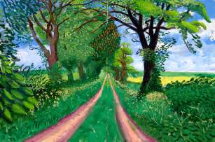 Landscape Pictures By David Hockney David Hockney A Bigger Picture Nouveauricheclothing S