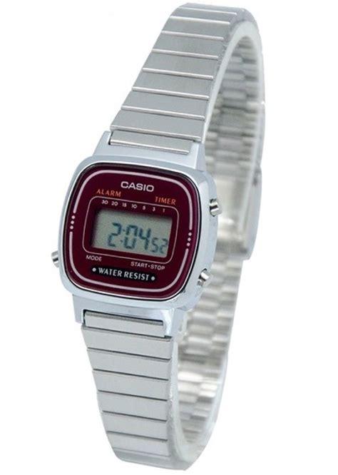 orologi casio donna orologio donna digitale casio la670wa 4df la tua moda