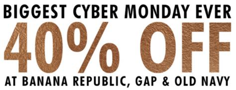 old navy coupons cyber monday gap old navy banana republic early cyber monday 2015