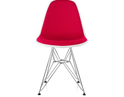 Eames Chair Base by Eames 174 Upholstered Side Chair With Wire Base Hivemodern