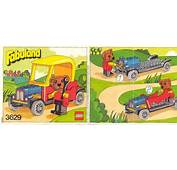 LEGO Barney Bear Instructions 3629 Fabuland