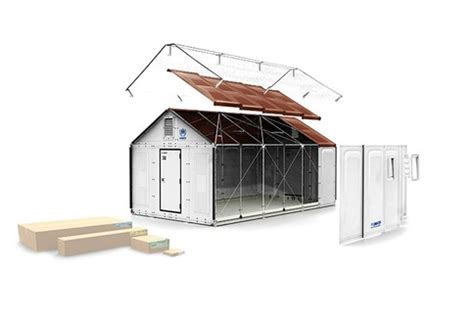 ikea flat pack shelter ikea foundation unhcr unveil sustainable homes for
