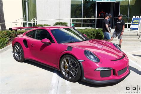 pink porsche 911 incredible pts ruby star porsche 911 gt3 rs gtspirit