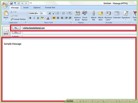 how to open outlook template how to create and use templates in outlook email with