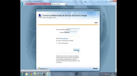 escritorio remoto windows server 2008 videotutorial para escritorio remoto en windows server 2008 r2