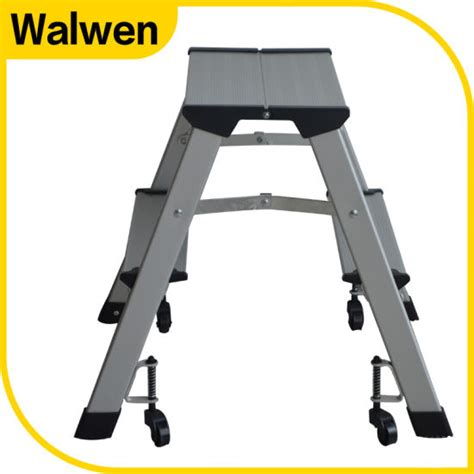 Folding Stool With Wheels by China A Shape Folding Household Aluminum Step Stool With