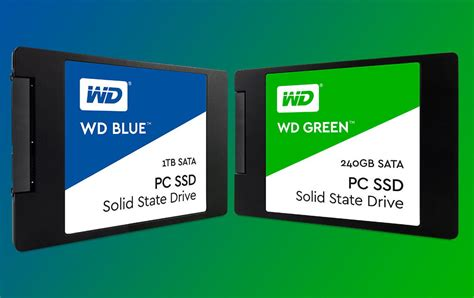 Ssd Solid State Drive San Disk Wd Western Digital Green 120 Gb Sata 3 western digital debuts wd blue green solid state drives