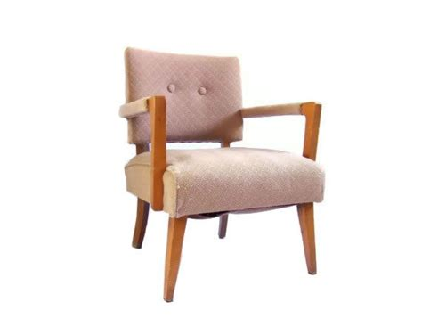 vintage armchair pink vintage slipper chair accent armchair pink dusty