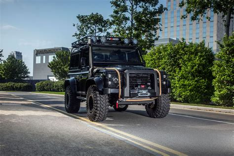 land rover spectre tweaked automotive builds land rover defender 90 spectre