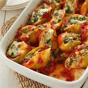 spinach stuffed shells recipe pasta recipes all you